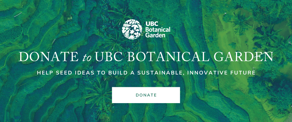 Donate to UBC Botanical Garden